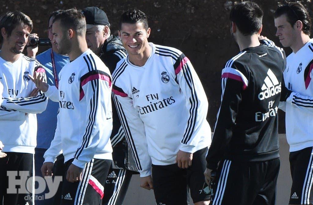 Jugadores del Real Madrid. archivo