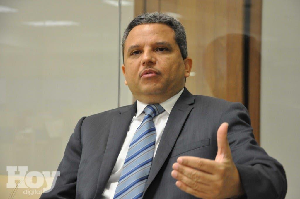 Fidel Santana, diputado del Frente Amplio. ARCHIVO