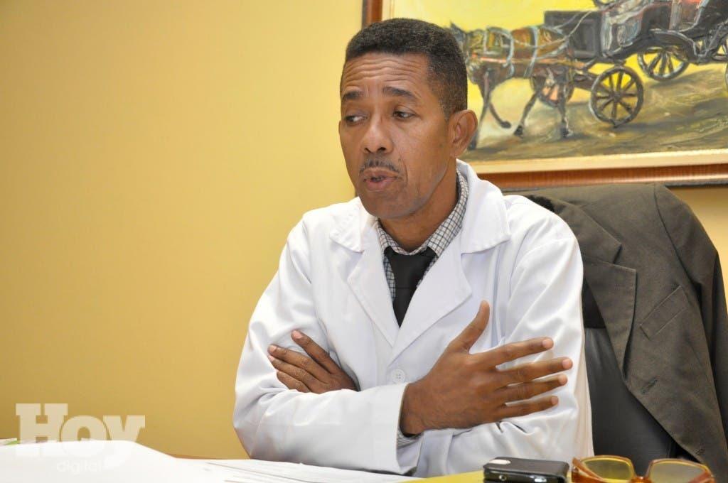 Doctor Clemente Terrero, médico. Foto: Pablo Matos.