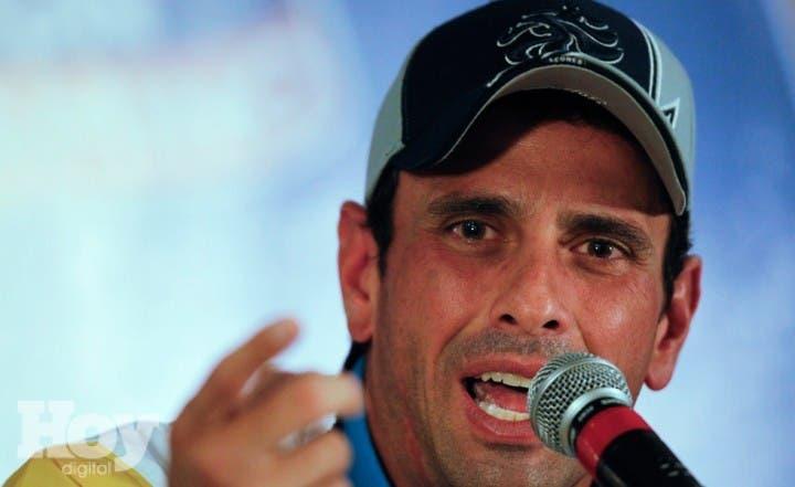 Henrique Capriles. Archivo