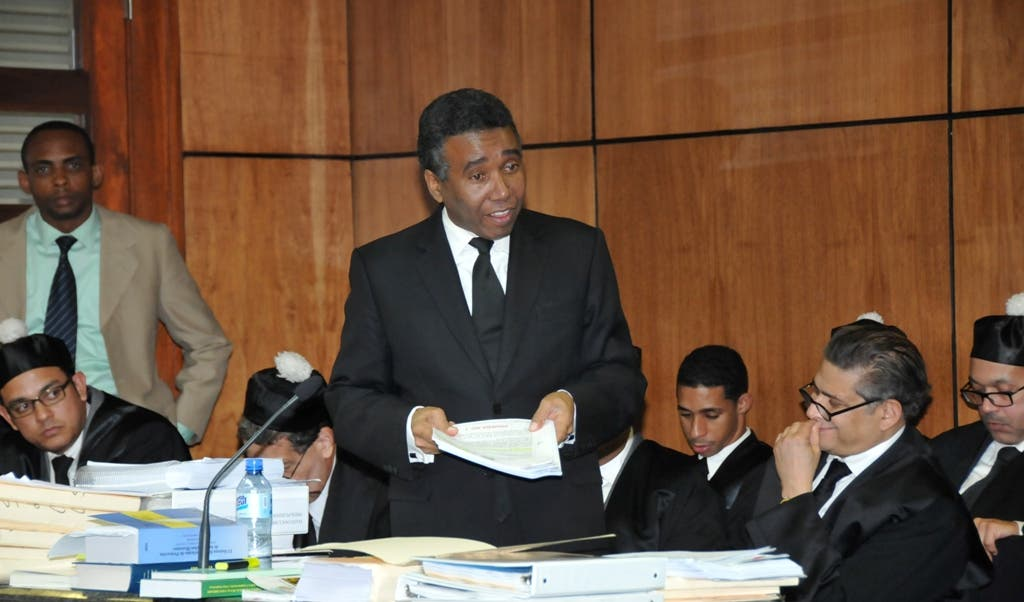 El senador Felix Bautista durante el juicio que se le sigue.Hoy/Alberto Calvo 25/2/15