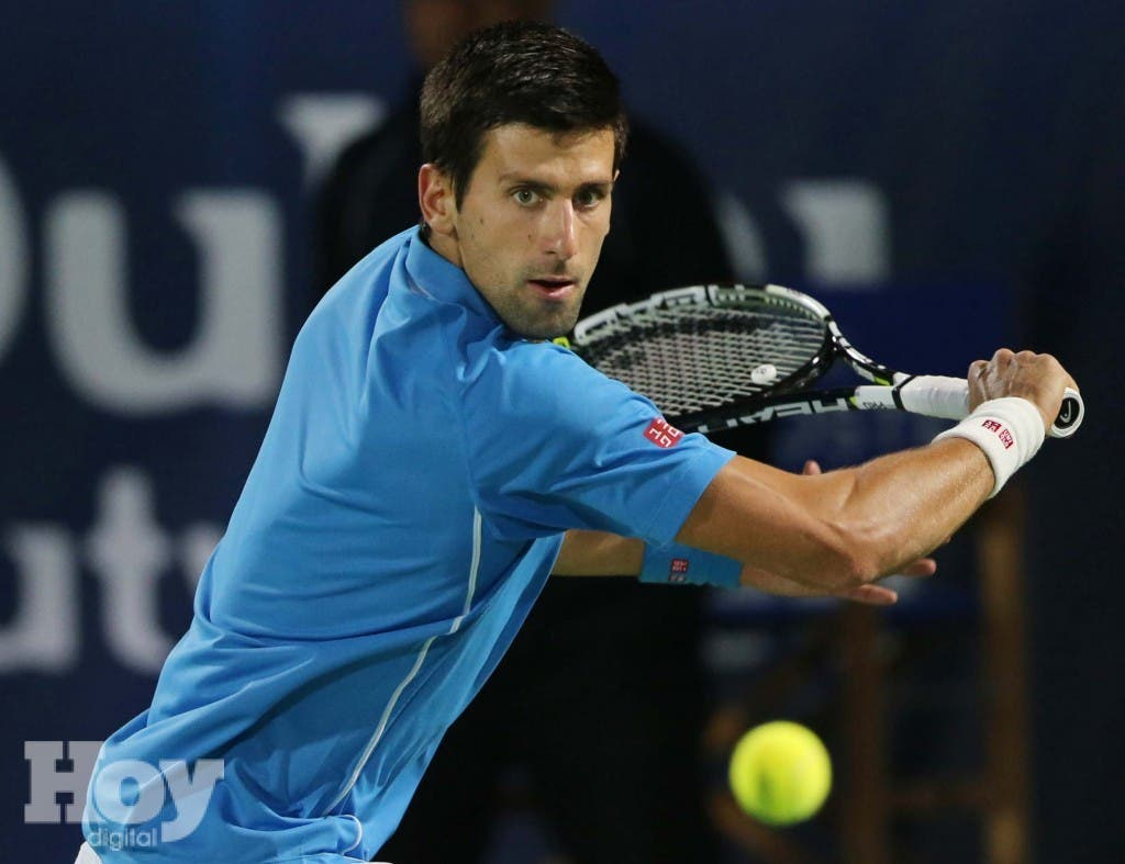 Novak Djokovic. (AP Photo/Kamran Jebreili)