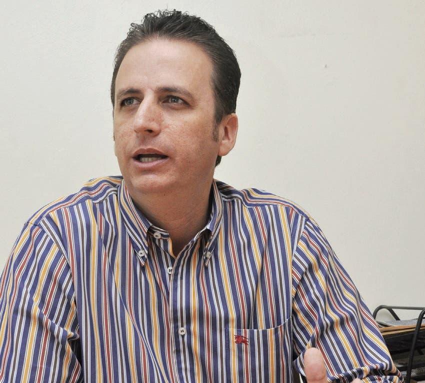 Walter Musa, alcalde de Puerto Plata, durante una entrevista concedida a periodistas de HOY.