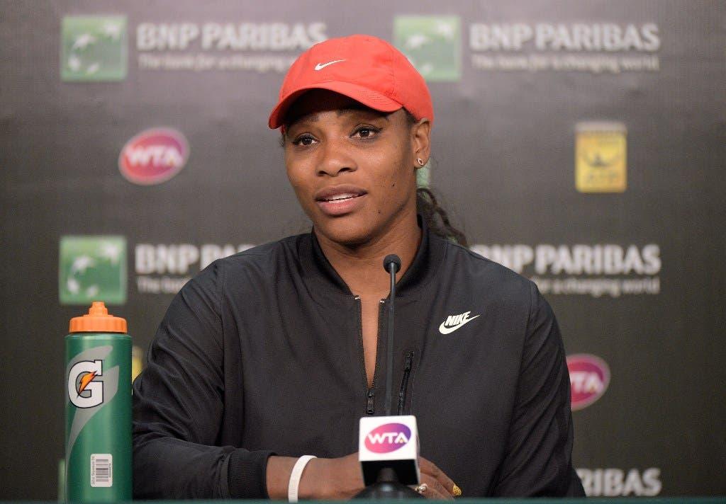 Serena Williams regresa victoriosa y Estrella se despide de Indian Wells