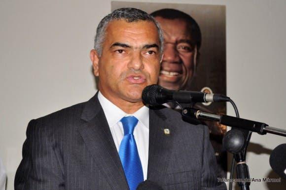 El diputado del Partido Revolucionario Dominicano (PRD) Carlos Gabriel García.