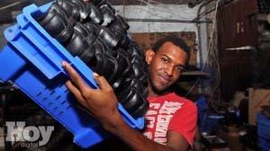 Fabrica de calzados, barrio 24 de abril