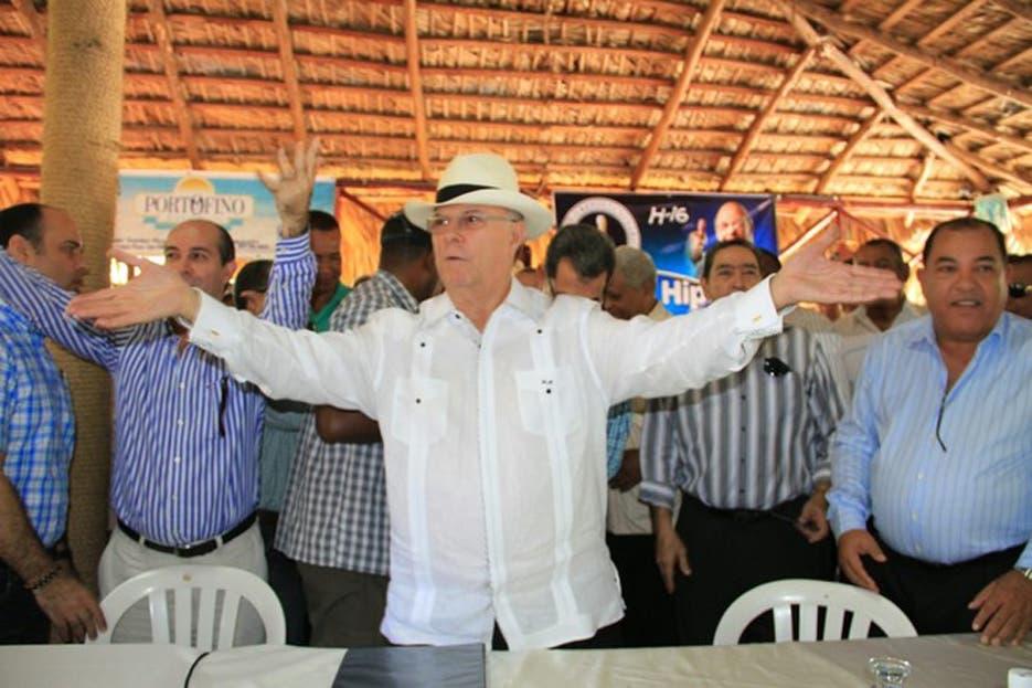 Hipólito Mejía encabezará actividades en la provincia Santo Domingo y el Distrito Nacional