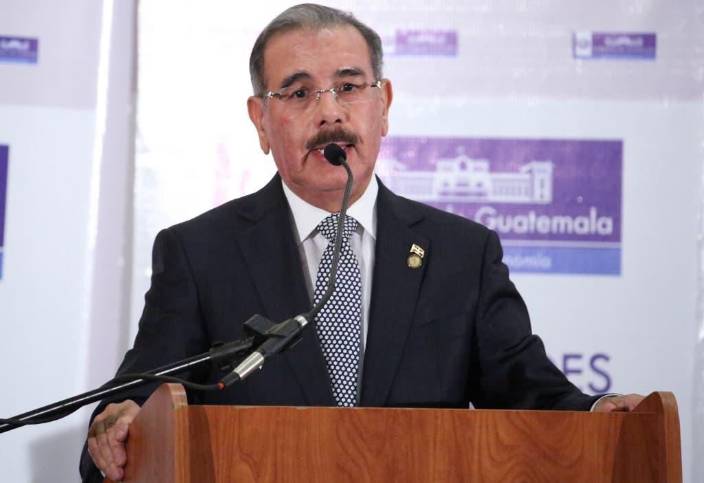 Presidente Danilo Medina en Foro empresarial.Hoy/Fuente Externa 9/3/15