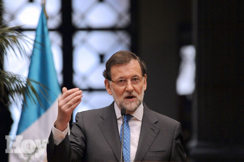 Mariano Rajoy.  AFP PHOTO / JOHAN ORDONEZ.