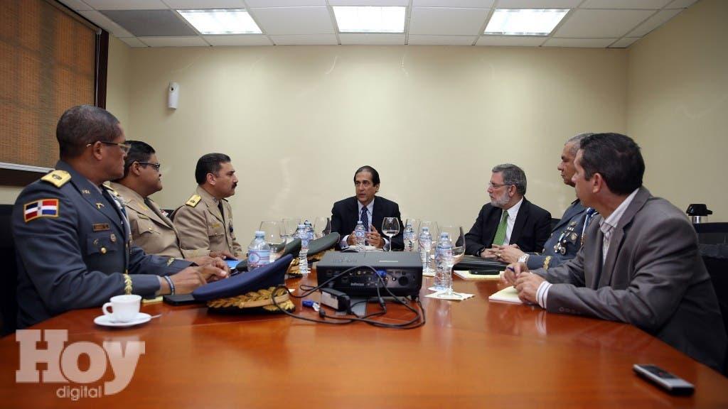 Reunión operativos Semana Santa. Ministro Montalvo encabeza encuentro