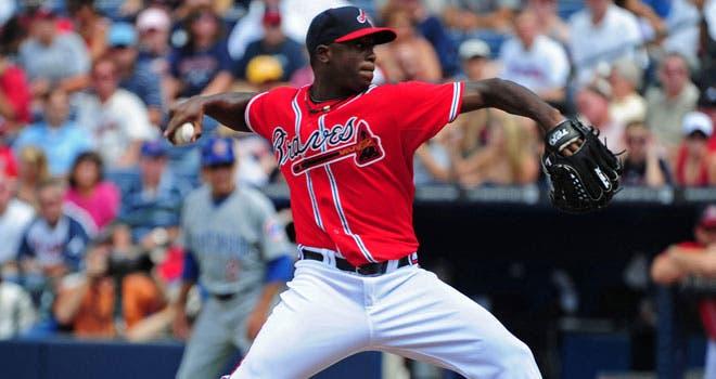 os Bravos de Atlanta enviaron a ligas menores al dominicano Arodys Vizcaíno