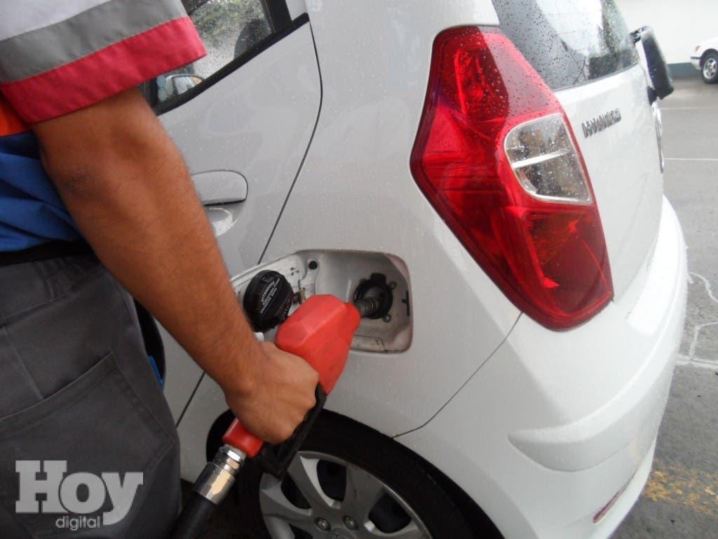 Precios de los combustibles.  Archivo