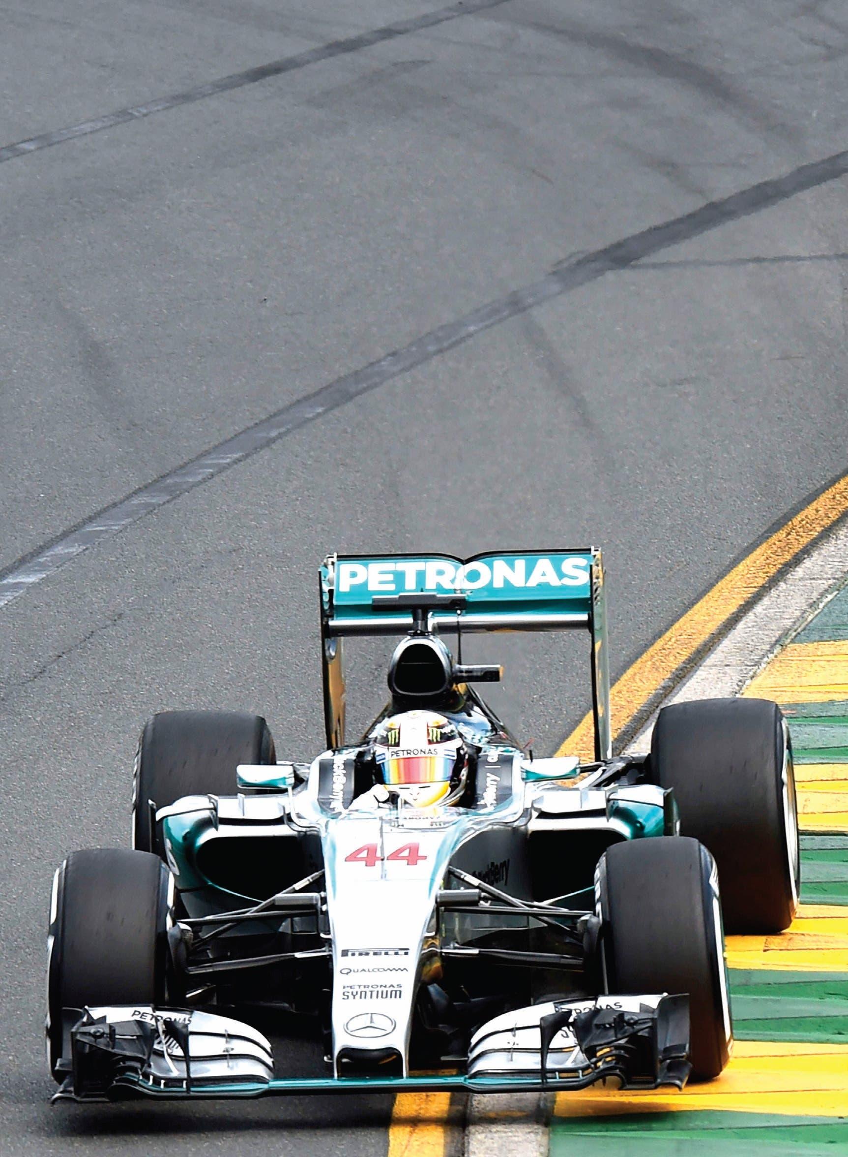Hombre record, Lewis Hamilton quiebra marca en clasificación GP Australia