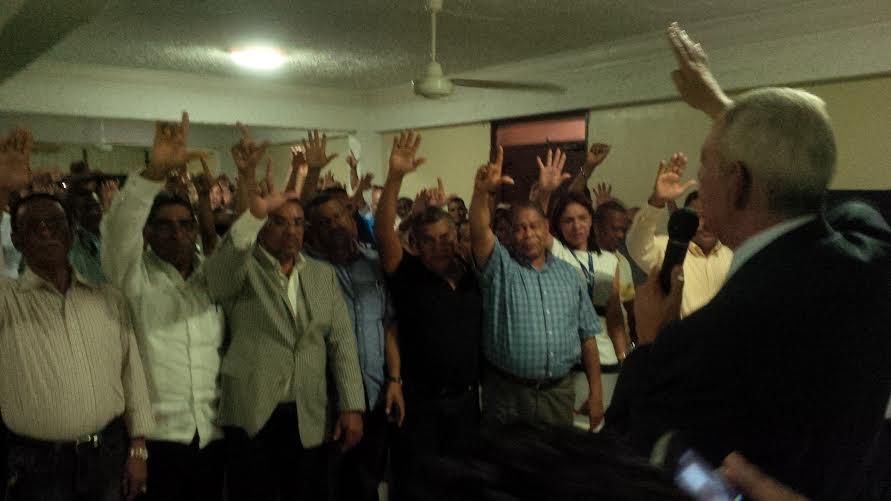 Leonelistas juramentan equipos de campaña en SDE