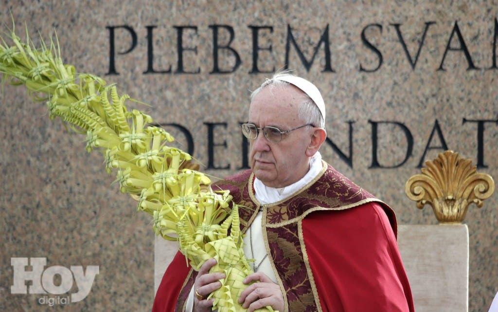 papa domingo de ramos
