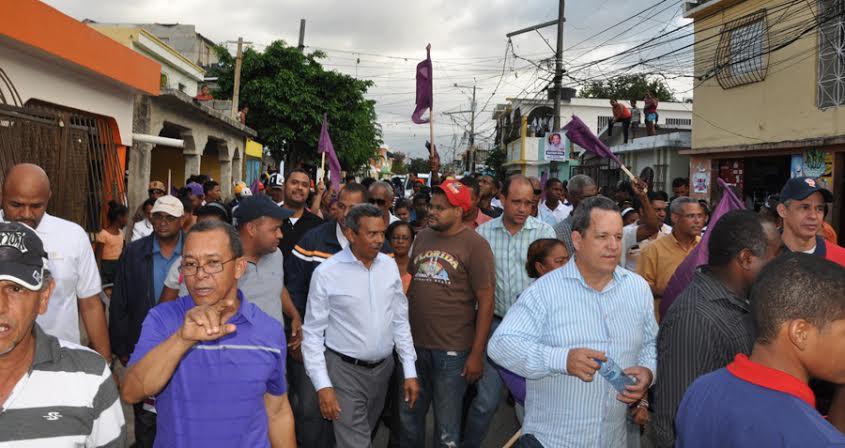 Radhamés Segura clama por elecciones transparentes en el PLD