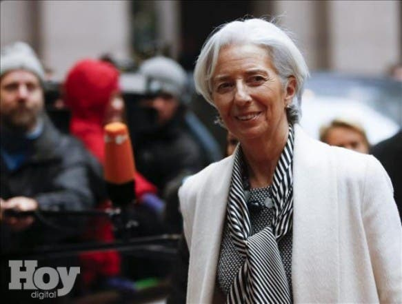 Christine Lagarde, archivo.