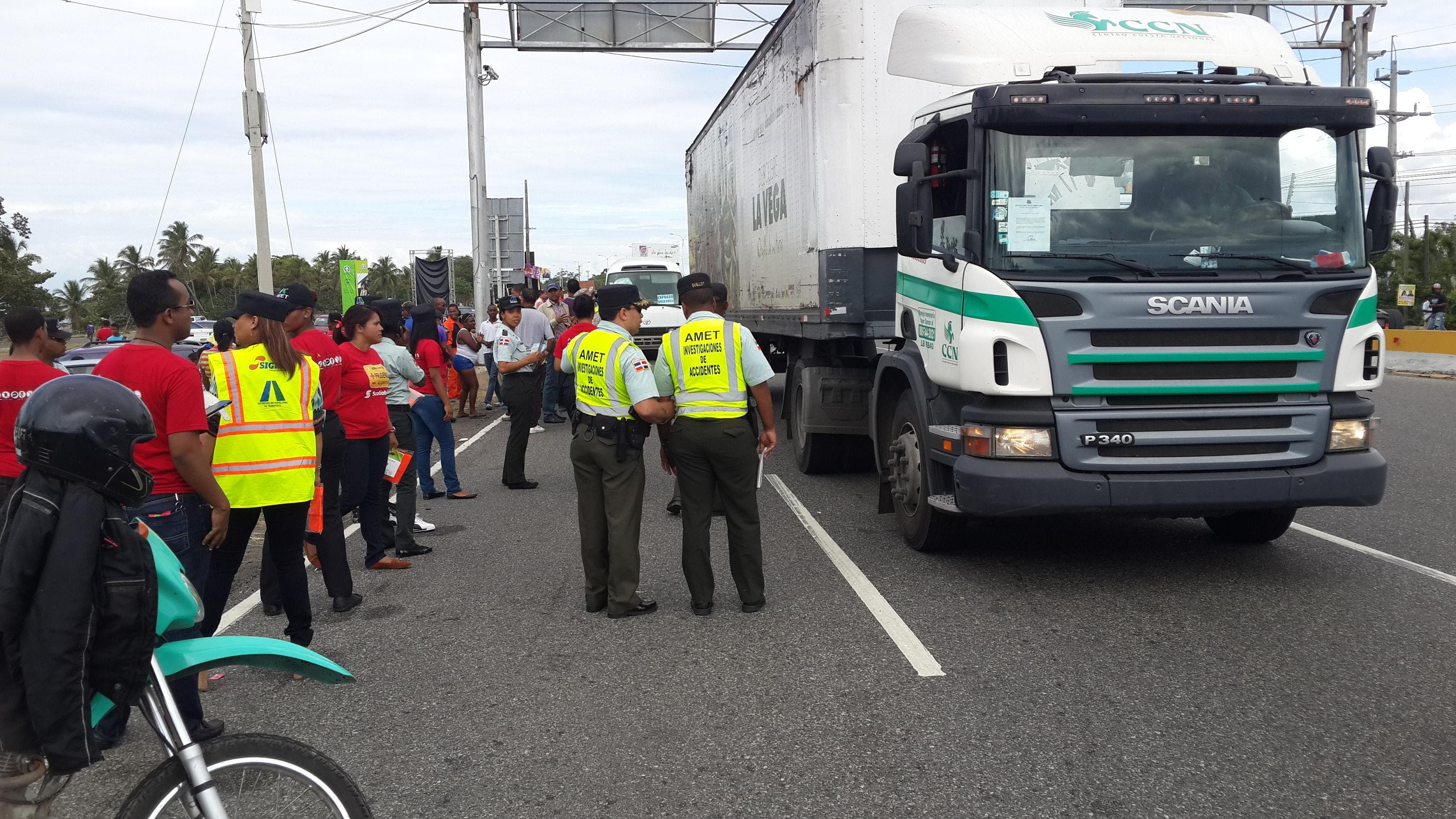 AMET censuró 560 conductores por violar Ley de tránsito en las últimas 24 horas