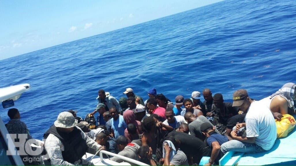 El primer arresto de cubanos se produjo en las inmediaciones de la isla Saona.  Imagen de archivo