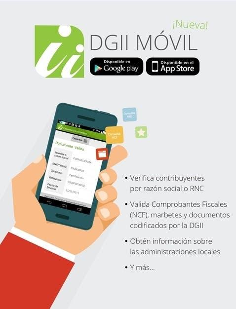 """DGII lanza aplicación para smartphone """"DGII Móvil"""""""