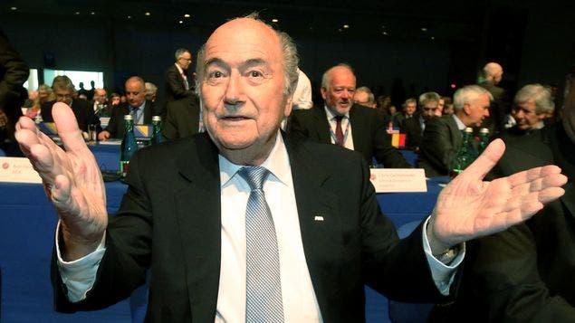 Joseph Blatter, presidente de la FIFa, archivo