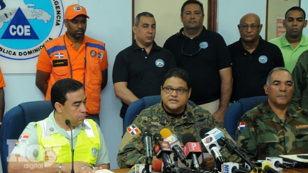 El general Juan Manuel Méndez, director del COE. Fuente externa.