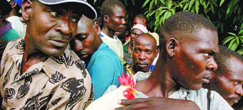 Detienen haitianos indocumentados en Barahona