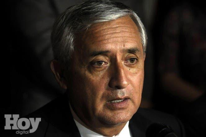 El presidente de Guatemala, Otto Pérez Molina. EFE.