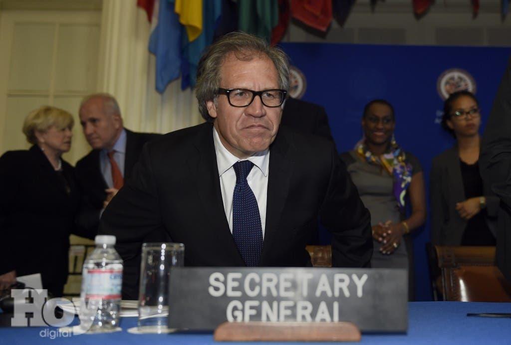 El secretario general de la Organización de Estados Americanos (OEA), el uruguayo Luis Almagro.