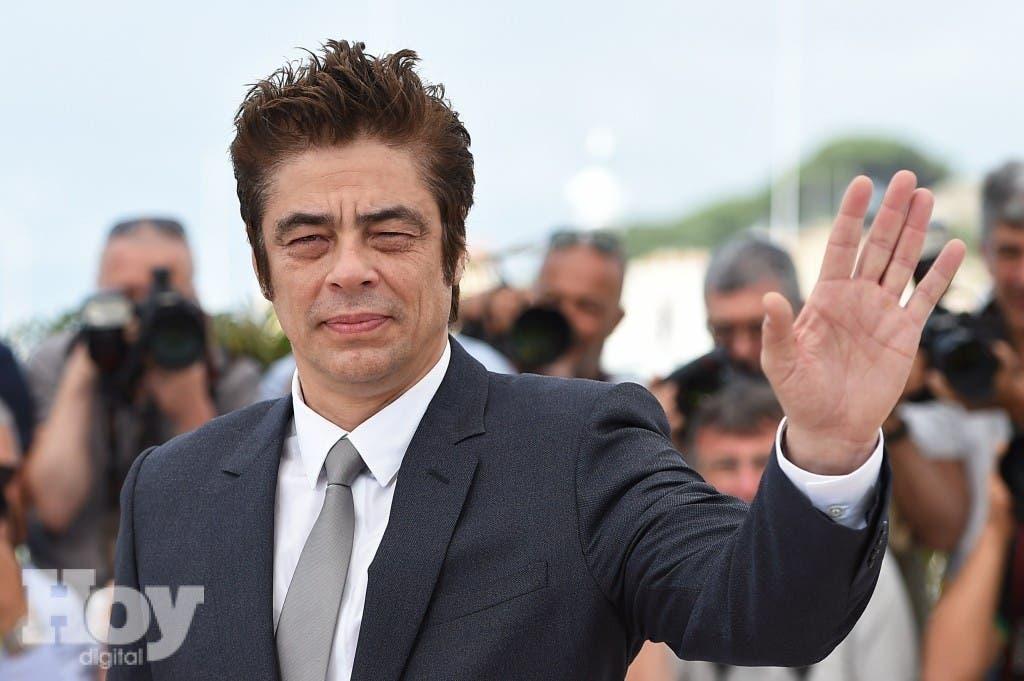 Benicio del Toro. AFP PHOTO / ANNE-CHRISTINE POUJOULAT.