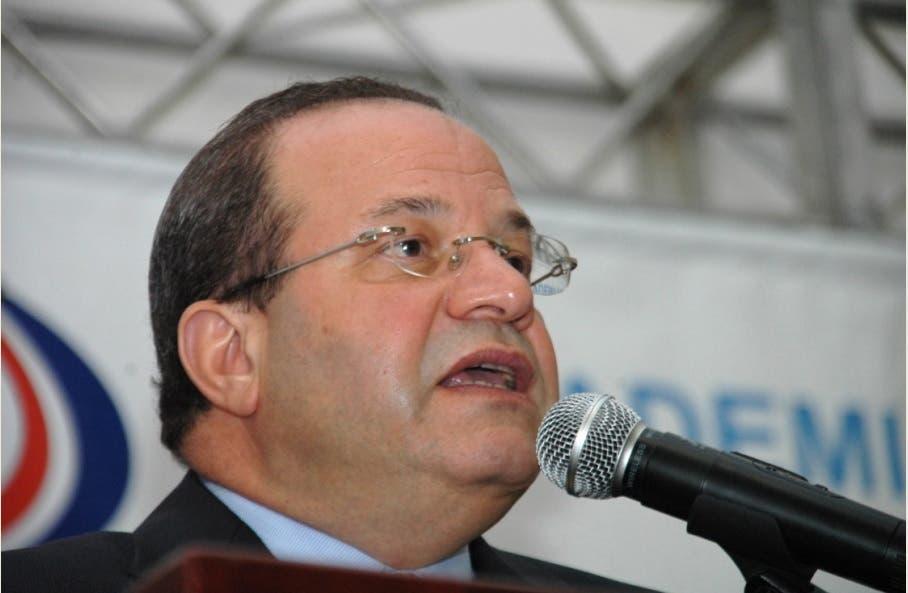 José Tomás Pérez. Foto de archivo HOY/Félix de la Cruz.