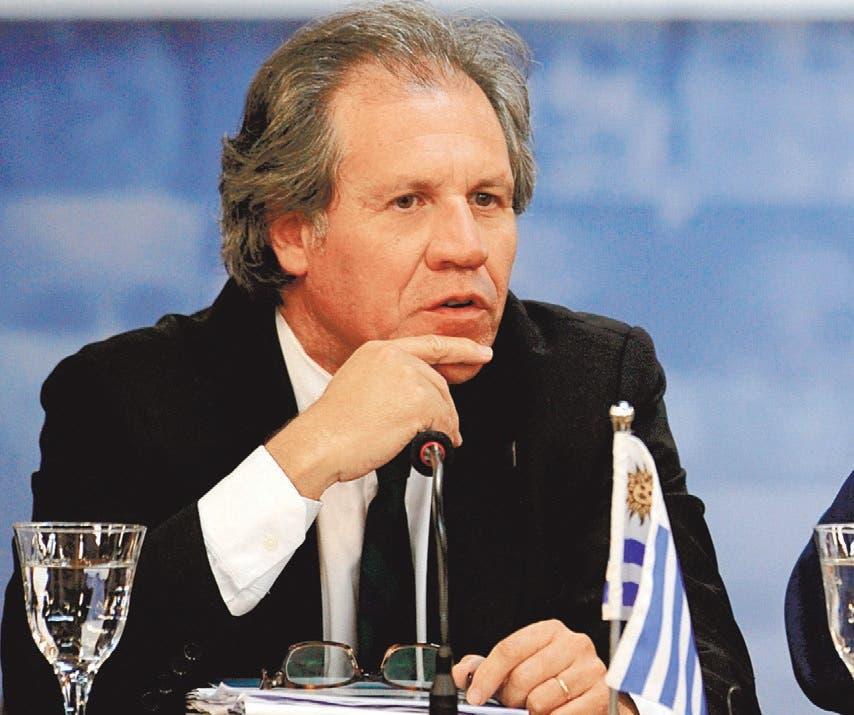 El secretario general de la OEA, Luis Almagro,  archivo