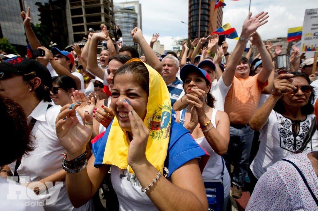 Venezuela Opposition March