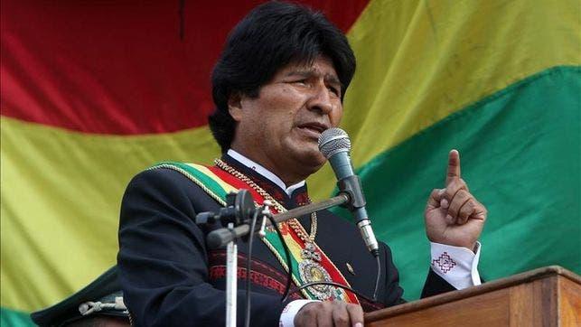 El presidente de Bolivia, Evo Morales. Fuente externa.