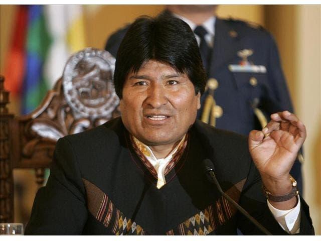 Evo Morales, presidente de Bolivia.- Foto: EFE