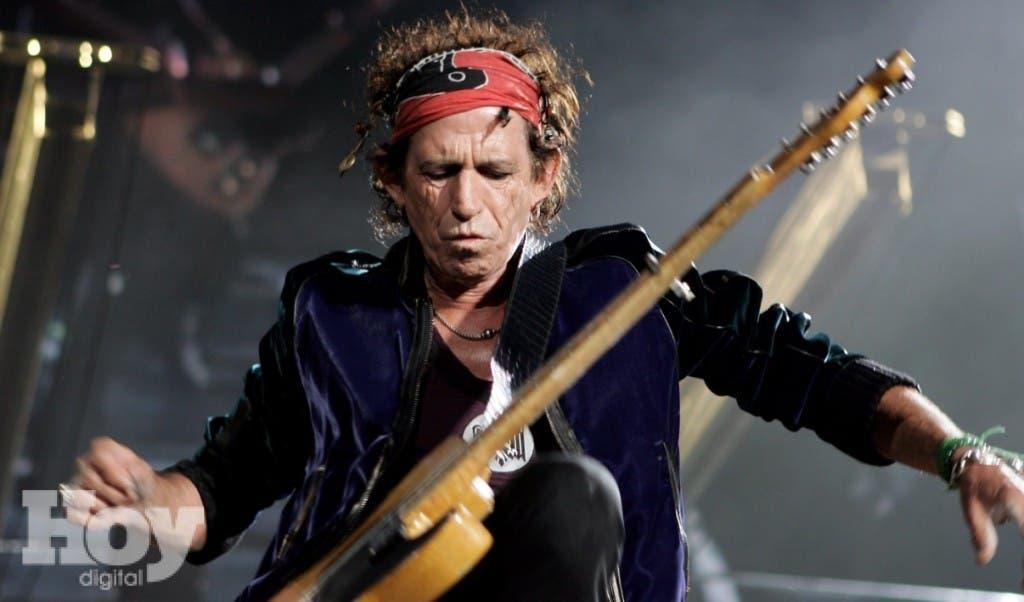 Keith Richards es guitarrista de Rolling Stones desde 1962. FUENTE EXTERNA