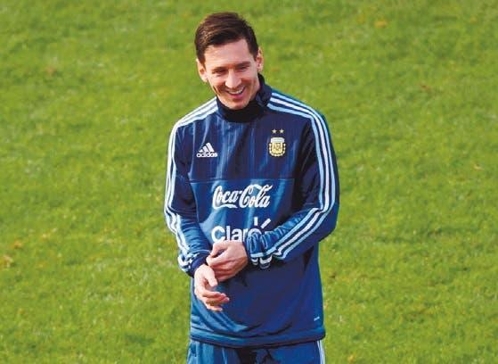 Lionel Messi, foto de lachivo.