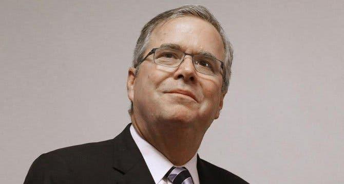 El candidato Jeb Bush
