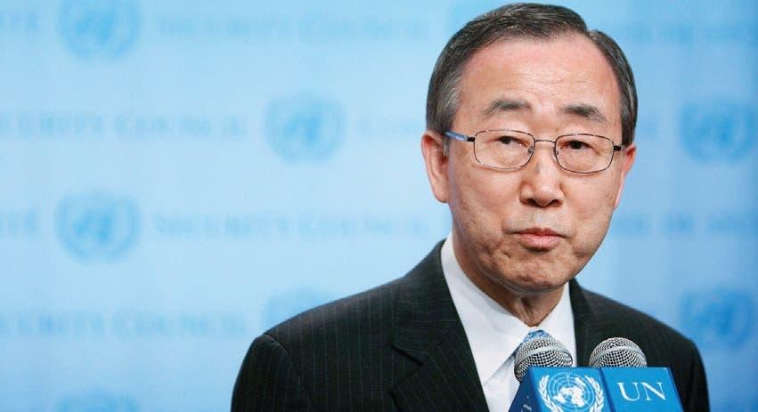 Ban Ki-moon, secretario general de las Naciones Unidas. Archivo