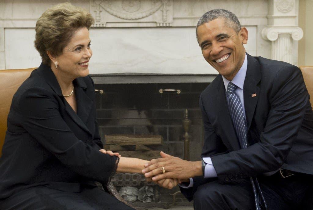 Dilma Rousseff y Barack Obama. Fuente externa.