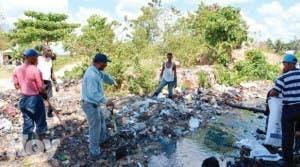 Con plan piloto de Gualey inician saneamiento de barrios y cañadas