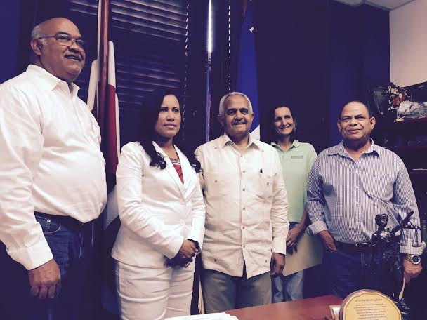 Las acciones se llevarán a cabo en el marco de un convenio de colaboración interinstitucional que fue firmado por la fiscal Sonia Espejo y el presidente ejecutivo de la JAD, Osmar Benítez. Fuente externa.