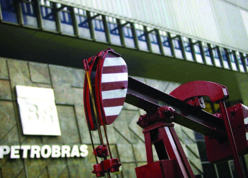 Sede de la petrolera estatal Petrobras en Brasil.