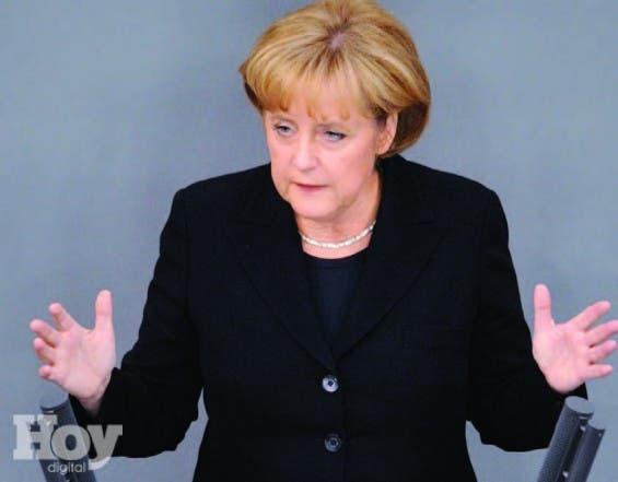 La primer ministra  de Alemania, Angela Merkel, archivo