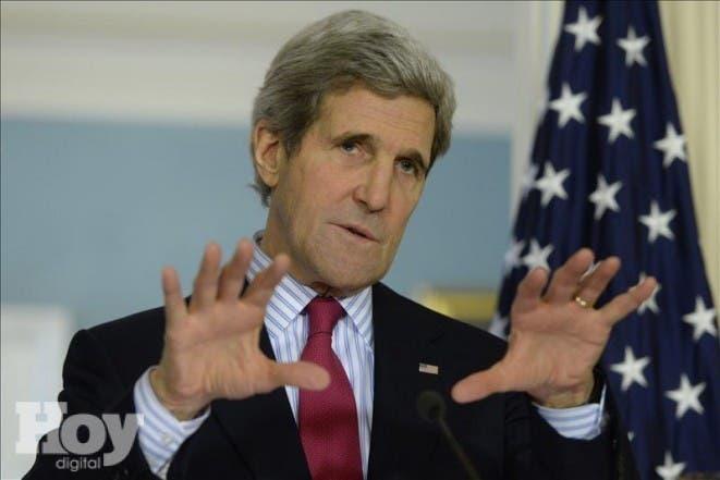 El secretario de Estado de EE.UU., John Kerry,