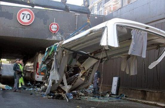 Accidente en Lille