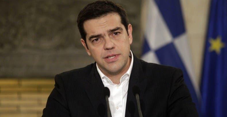 El primer ministro griego, Alexis Tsipras, archivo