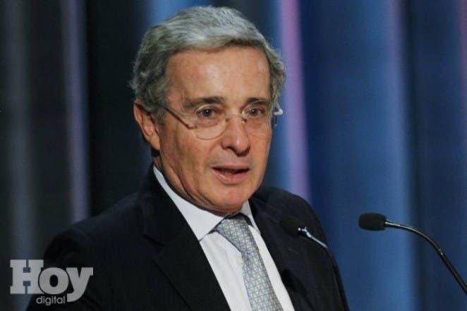 El expresidente de Colombia Álvaro Uribe.AP
