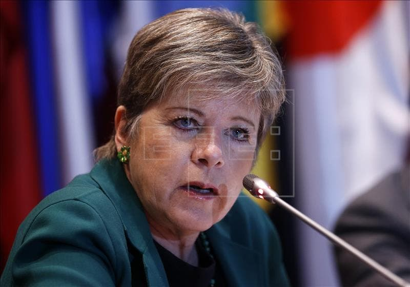 La secretaria ejecutiva de la Comisión Económica para América Latina y el Caribe (CEPAL), Alicia Bárcenas. EFE/Archivo