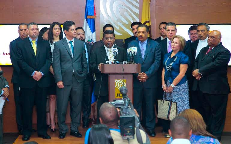 Delegacion Honduras en JCE
